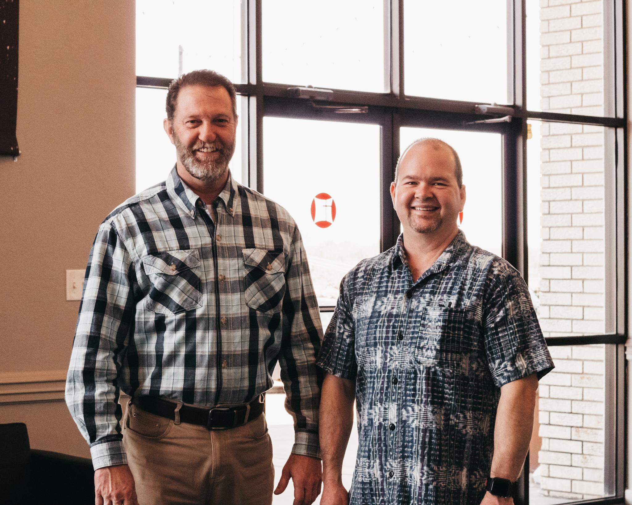 John Dickinson & David Moss